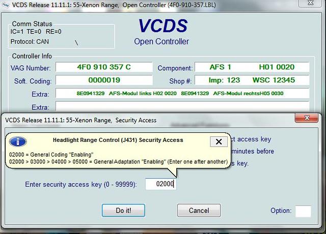 Audi Q7 Vag Com Codes
