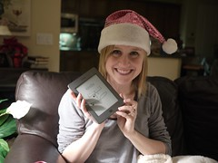 Heather Gets a Kindle