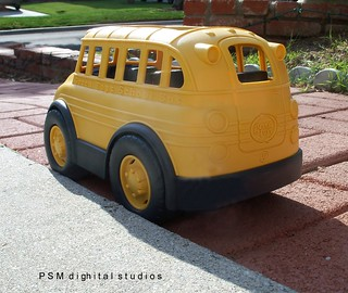 Emma's Little School Bus / Green Toys