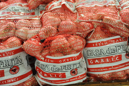 Garlic.....