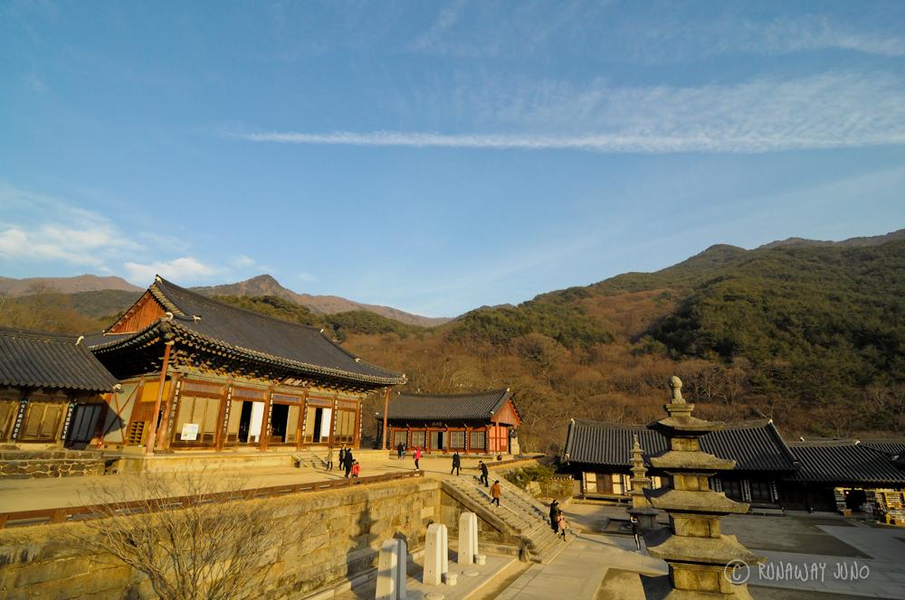 Hwaumsa Templestay Korea