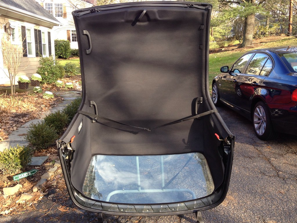 E36 Bmw E36 Convertible Hardtop Black With Stand And