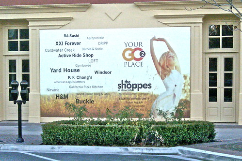 Shoppes wall ad by MrBigCity