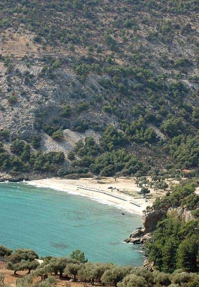 Livadi beach,Thassos,Greece