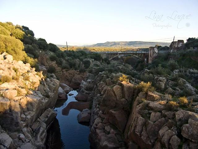 Vista desde el puente romano