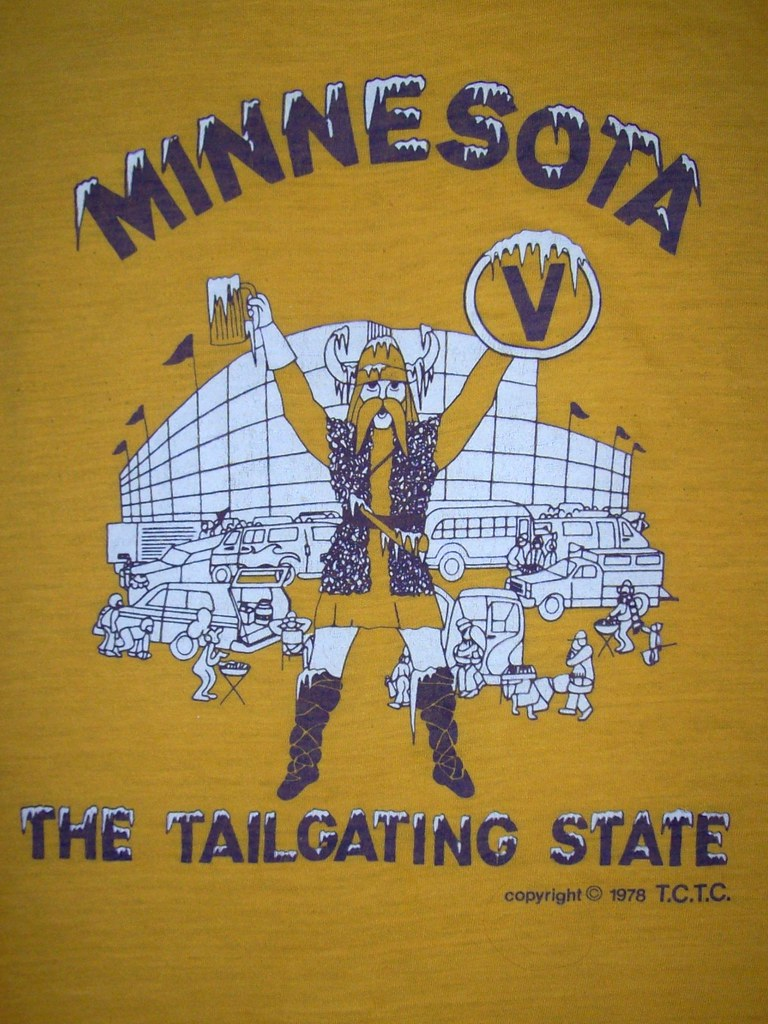 vintage Vikings shirt