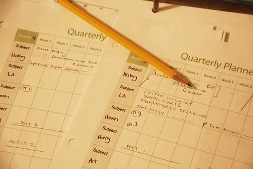 planner pencil