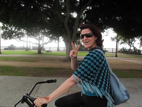 kt biking santa monica