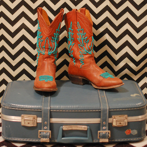 DIY Beaded Cowboy Boots