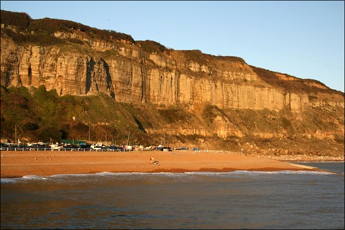 Cliffs at Hastings, East Sussex