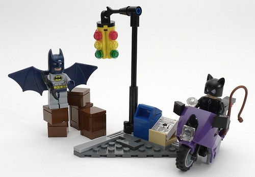 LEGO 6858 CAT WOMAN/'S CATCYCLE MOTORCYCLE SUPER HEROES