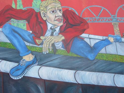 Saltando el Muro de Berlin