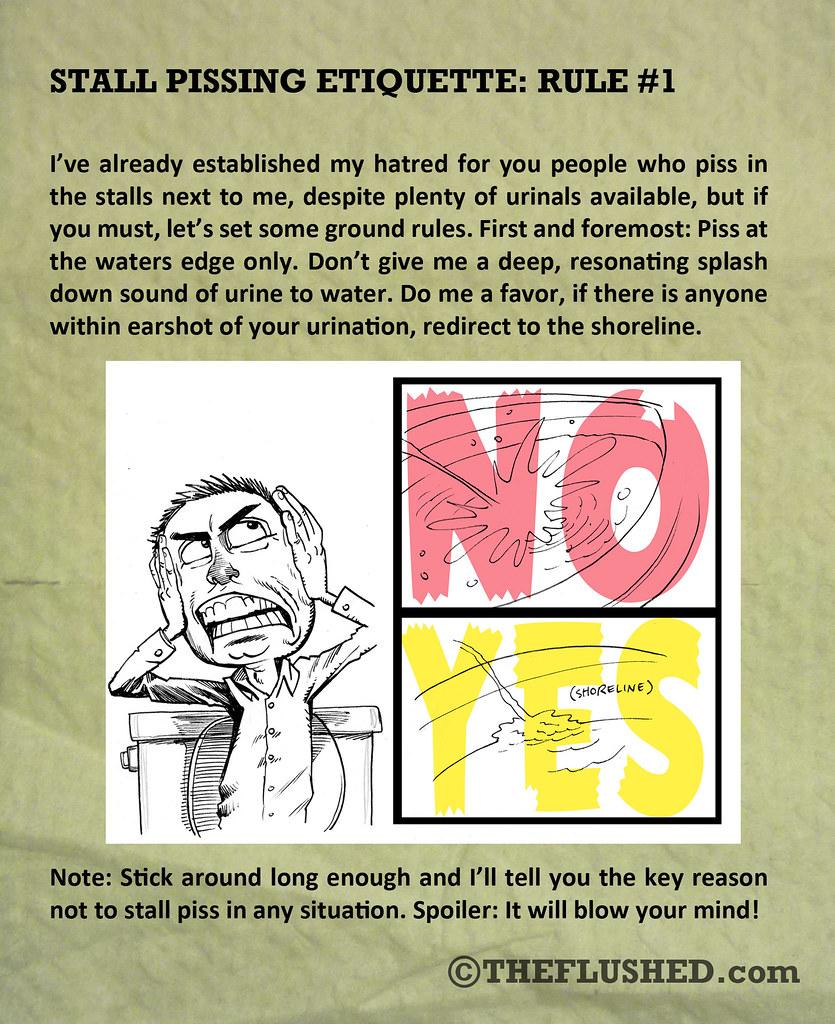 09 Stall Pissing Etiquette R1
