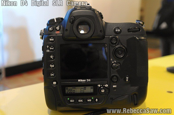 NIKON D4 DIGITAL SLR CAMERA-4