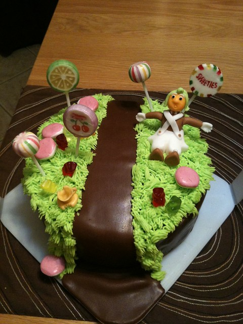 Cake-escape: Willy Wonka Cake
