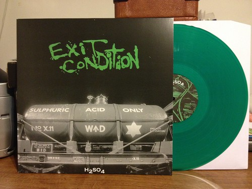 Exit Condition - H2SO4 LP - Green Vinyl /300 by Tim PopKid