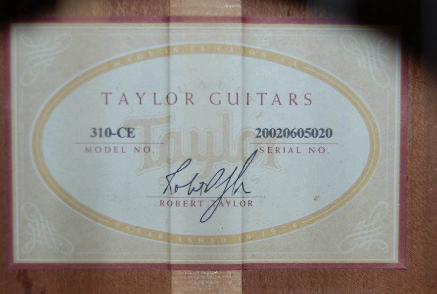 Taylor 310ce