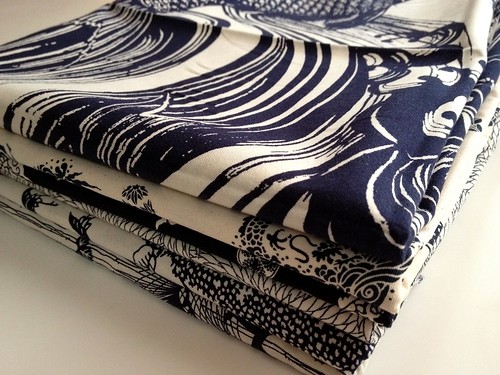 New navy prints!