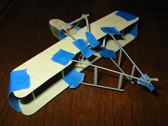 DH-2 wings, landing gear and A frames