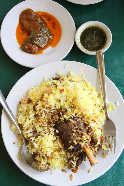 Thai Mutton (goat) Biryani at Home Islamic Cuisine