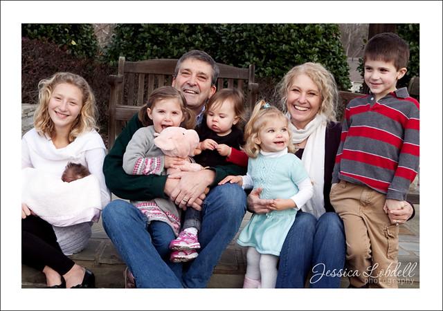 Caron Extended Family Portrait