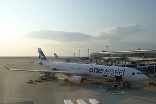 CX531, one world 塗裝的 A330
