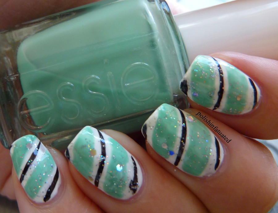 stripy nail art2