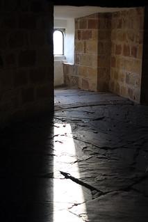skipton castle upper interior window 2