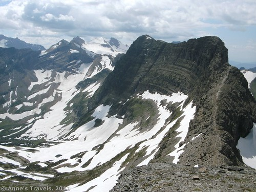 Dragon's Back, Reynolds Mountain Trail, Glacier National Park, Montana