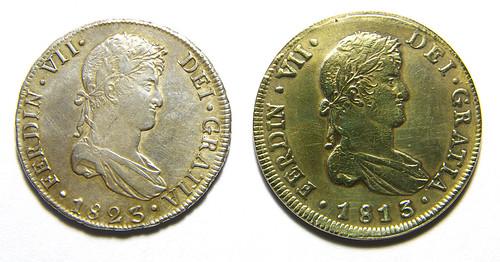 Monedas de 8 Reales