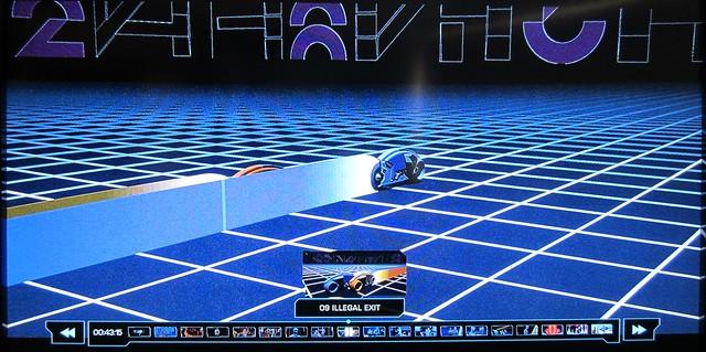 Tron: Lightcycles on Blu-Ray