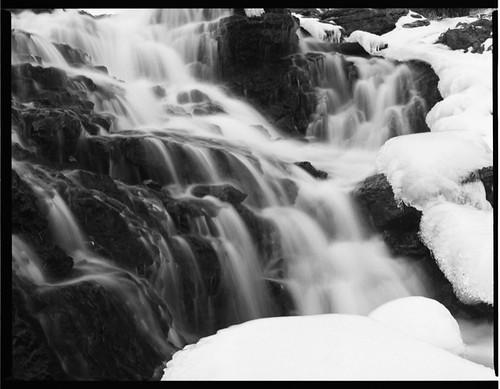 longexposure winter snow ice water mediumformat fuji iowa acros100 lakemacbride