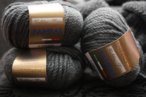 Pampas knitting