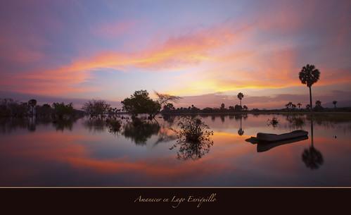 "Amanecer en Lago Enriquillo-Dominican Republic by Joalhi ""Around the World"""