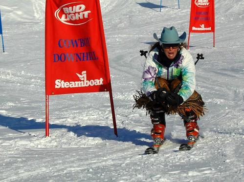 Cowboy Downhill 2012 Photo Larry Pierce STEAMBOAT SKI & RESORT CORP.-1