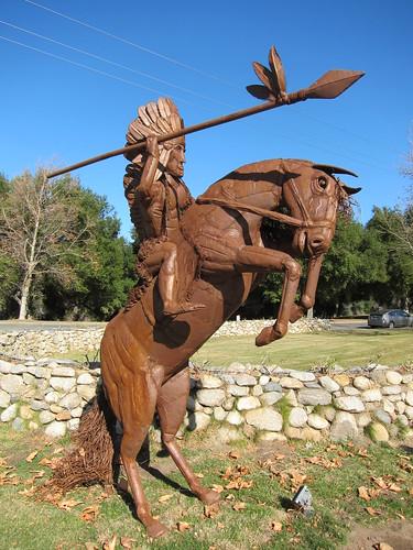 scrap metal sculpture, Ricardo Breceda, hor… IMG_9263