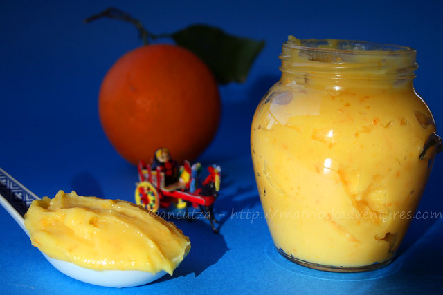 immagine foto foto orange curd alle arance