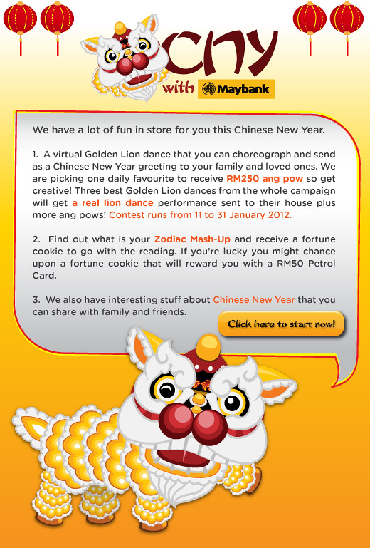 Celebrate Chinese New Year With Maybank Facebook App