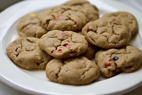 gluten free pb cookies