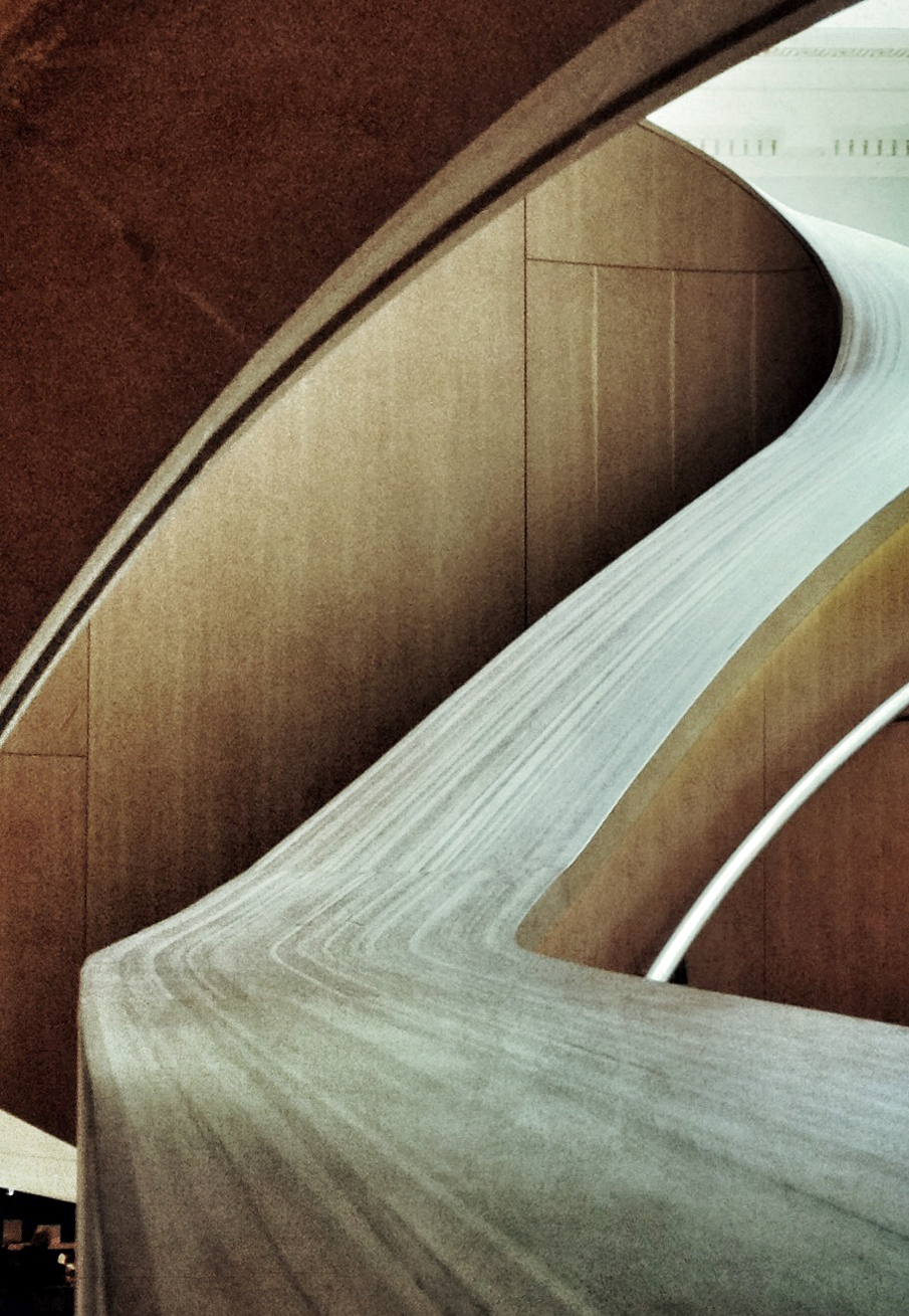 Out of camera: Gehry stairs, Art Gallery of Ontario