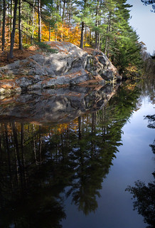Autumn Reflections, Runaround Pond, Durham, Maine (20224)