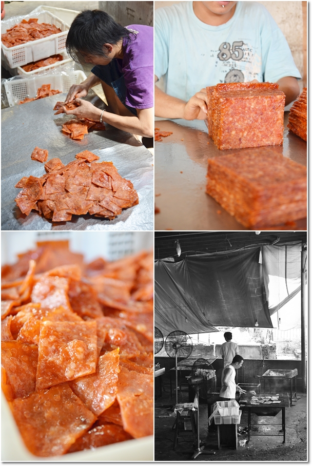 Processes of Making Bak Kwa