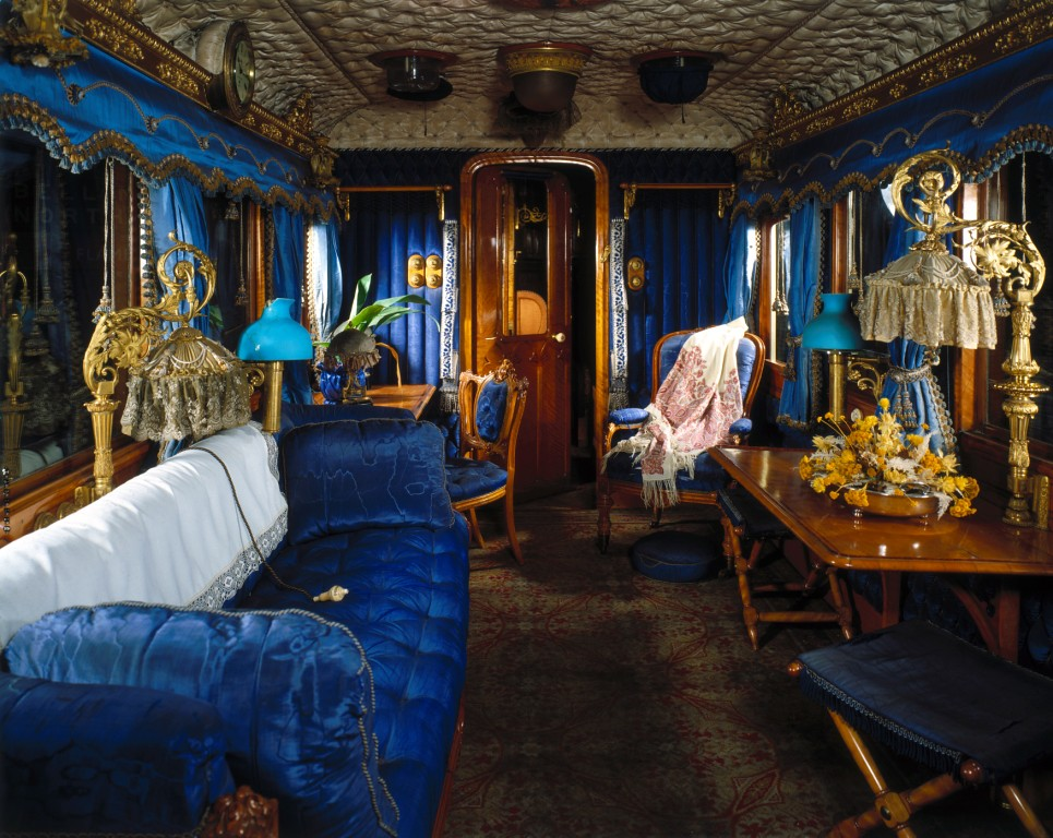 Interior Of Queen Victoria S Carriage National Railway M