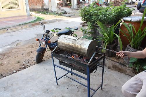 drum roaster kampot