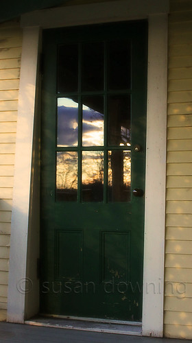 Back Door Sunset