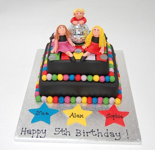Disco Cake   Beautiful Birthday Cakes