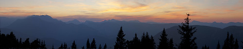 sunset panorama austria september 2011 австрия veitsch niederalpl veitschalpe mürzstegalps