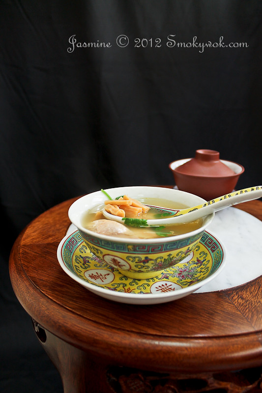 Luxurious Chicken Soup, Chinese Style...