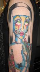 Zombie Nun Tattoo
