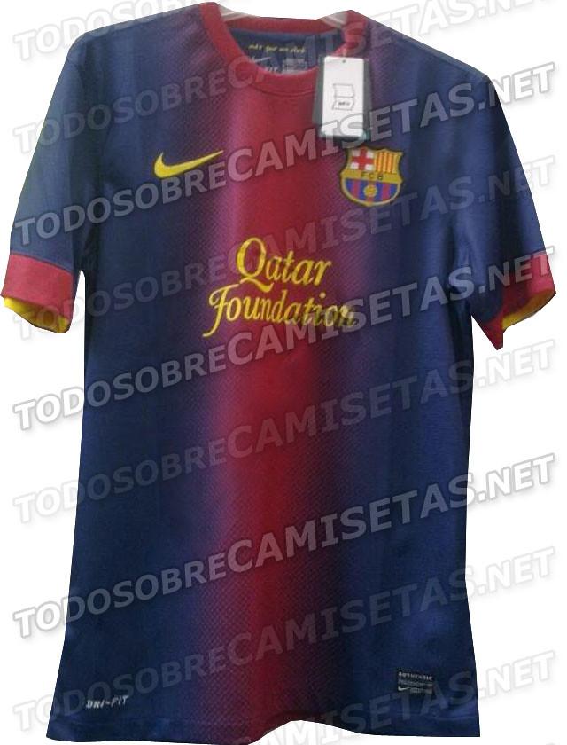 Kostum Baru Barcelona 2012-2013